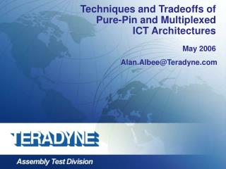 Techniques and Tradeoffs of Pure-Pin and Multiplexed ICT Architectures