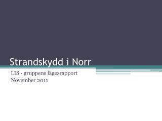 Strandskydd i Norr