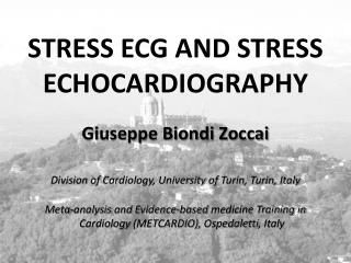 STRESS ECG AND STRESS ECHOCARDIOGRAPHY