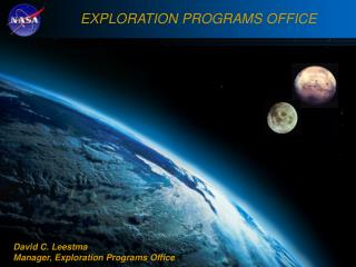 The Vision for Space Exploration