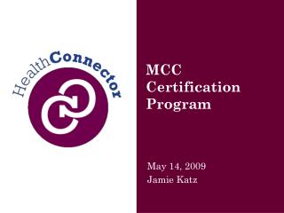 MCC Certification  Program