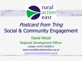 Postcard from Tring Social & Community Engagement