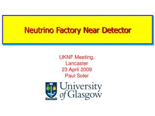 Neutrino Factory Near Detector