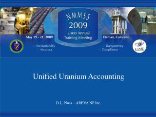 Unified Uranium Accounting