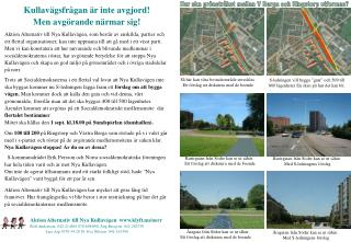 Så här kan våra bostadsområde utvecklas.  Ett förslag att diskutera med de boende
