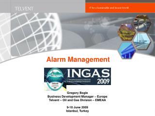 Alarm Manage ment