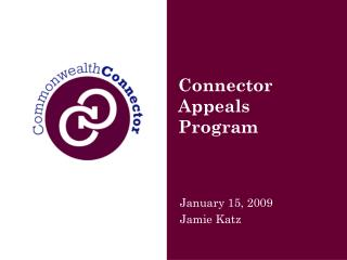 Connector Appeals Program