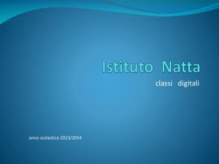 Istituto  Natta