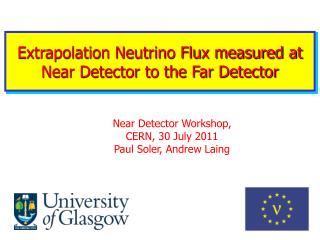 Extrapolation Neutrino Flux measured at Near Detector to the Far Detector