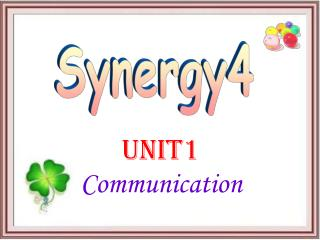 Unit1  Communication