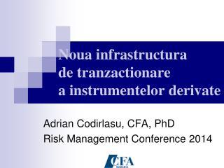 Noua infrastructura      de tranzactionare            a instrumentelor derivate