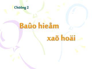 Chöông 2