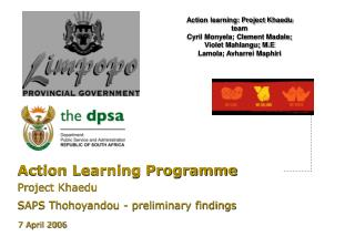 Action Learning Programme