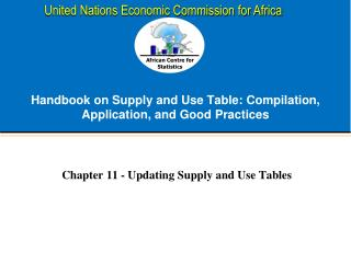 Handbook on Supply and Use Table: Compilation, Application, and Good Practices