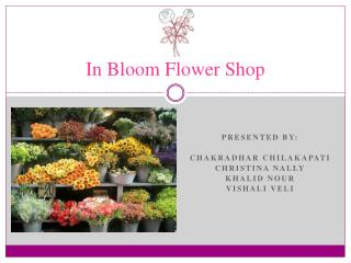 In Bloom Flower Shop