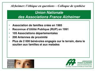 Union Nationale  des Associations France Alzheimer