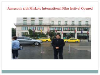 Jamesons 11th Miskolc International Film festival Opened