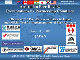 Goal of the Peer Review Activities