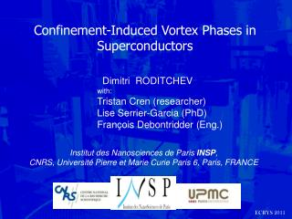 Confinement-Induced Vortex Phases in Superconductors