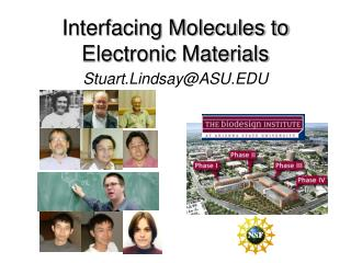 Interfacing Molecules to Electronic Materials