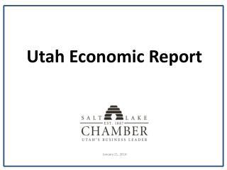 Utah Economic Report