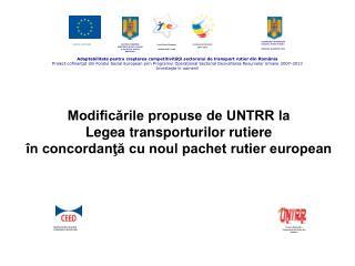Adaptabilitate pentru creşterea competitivităţii sectorului de transport rutier din România