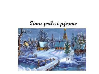 Zima priče i pjesme