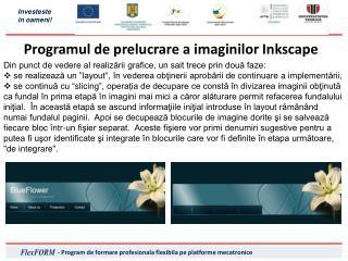 Programul de prelucrare a imaginilor Inkscape