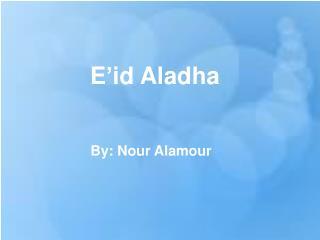 E'id Aladha