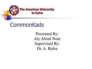 CommonKads
