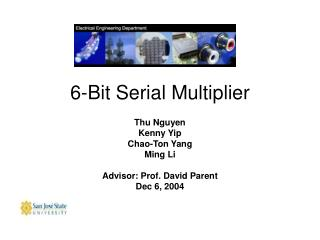 6-Bit Serial Multiplier