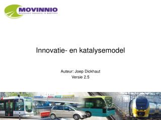 Innovatie- en katalysemodel