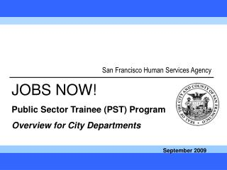 San Francisco Human Services Agency