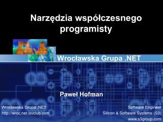Narzędzia współczesnego programisty