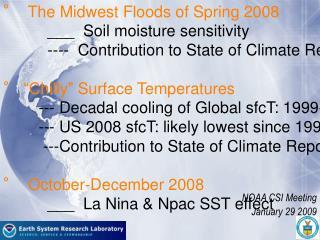 NOAA CSI Meeting  January 29 2009