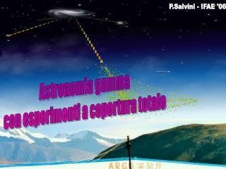 Astronomia gamma con esperimenti a copertura totale