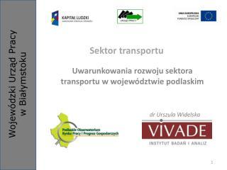 Sektor transportu