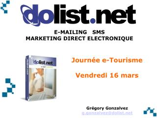 Journ�e e-Tourisme Vendredi 16 mars