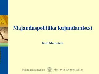 Majandusministeerium