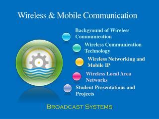 Wireless & Mobile Communication