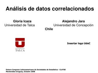 Análisis de datos correlacionados