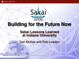 Building for the Future Now