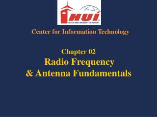 Chapter 02  Radio Frequency  Antenna Fundamentals
