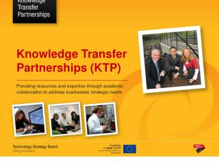 Knowledge Transfer Partnerships (KTP)