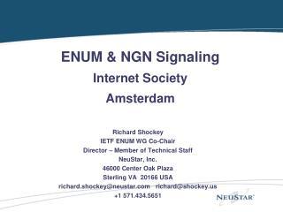 ENUM Overview