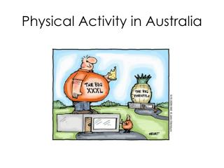 Physical Activity in Australia