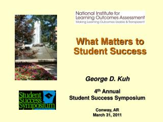 What Matters to Student Success