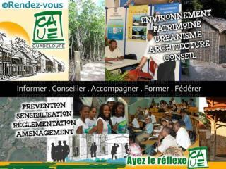   Le RDV CAUE, une rencontre annuelle…