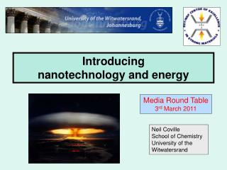Introducing  nanotechnology and energy