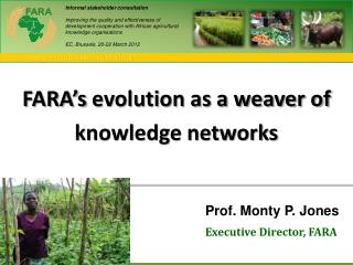 FARA's  evolution as a weaver of knowledge networks